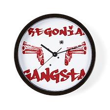 Oregonian Gangsta Wall Clock
