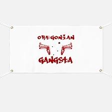 Oregonian Gangsta Banner