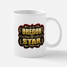 Oregon Star Gold Badge Seal Mug