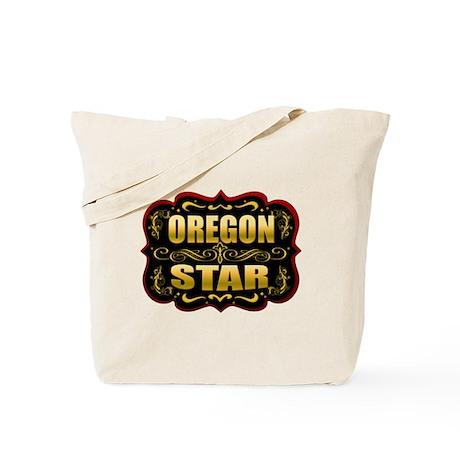 Oregon Star Gold Badge Seal Tote Bag
