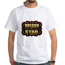 Oregon Star Gold Badge Seal Shirt