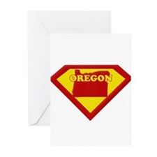 Super Star Oregon Greeting Cards (Pk of 20)