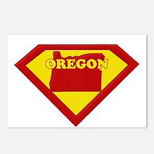 Super Star Oregon Postcards (Package of 8)