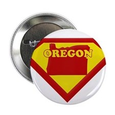 "Super Star Oregon 2.25"" Button"