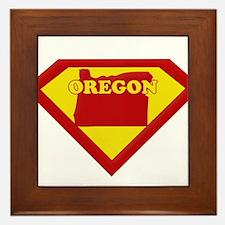 Super Star Oregon Framed Tile