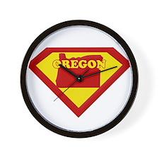 Super Star Oregon Wall Clock