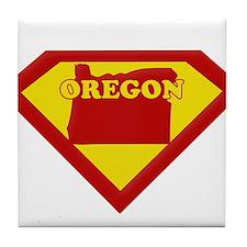 Super Star Oregon Tile Coaster