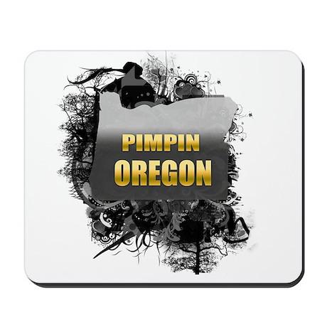 Pimpin' Oregon Mousepad