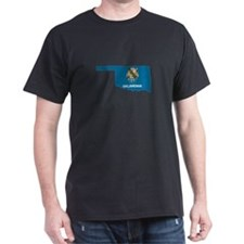 Oklahoma Stripe Custom Design T-Shirt