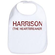 Harrison the heartbreaker Bib