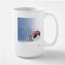 Packin it up on Route 66 Large Mug