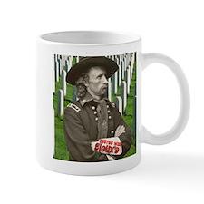 Custer was Siouxd Small Mug