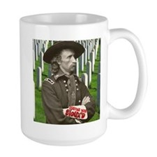 Custer was Siouxd Mug