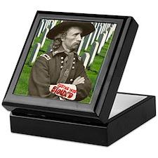 Custer was Siouxd Keepsake Box