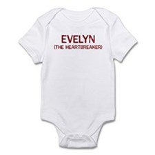 Evelyn the heartbreaker Infant Bodysuit
