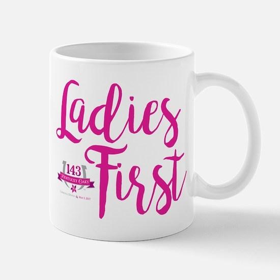 Oaks Day Ladies First Mugs