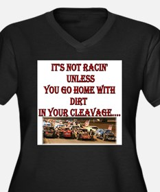 dirt in your cleavage.jpg Plus Size T-Shirt