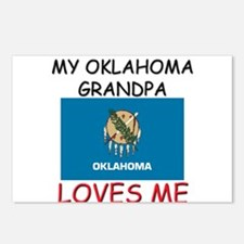My Oklahoma Grandpa Loves Me Postcards (Package of