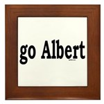 go Albert Framed Tile