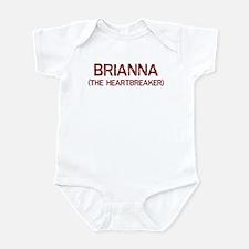 Brianna the heartbreaker Infant Bodysuit
