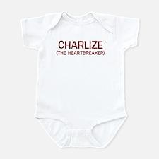 Charlize the heartbreaker Infant Bodysuit