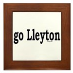 go Lleyton Framed Tile