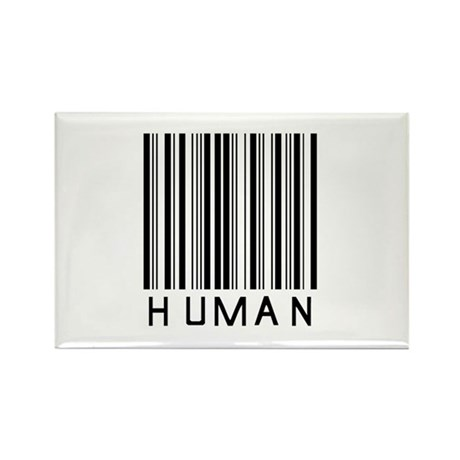 Only Human Rectangle Magnet (100 pack)