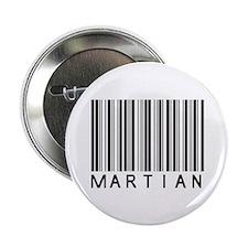 """Martian Barcode 2.25"""" Button"""