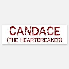 Candace the heartbreaker Bumper Bumper Bumper Sticker