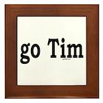 go Tim Framed Tile