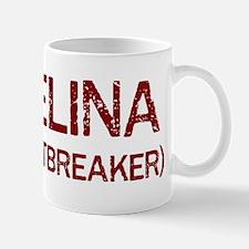 Angelina the heartbreaker Mug