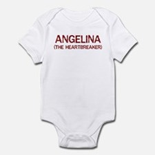 Angelina the heartbreaker Infant Bodysuit