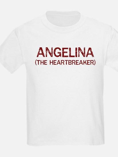 Angelina the heartbreaker T-Shirt