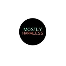 Mostly Harmless Mini Button (10 pack)