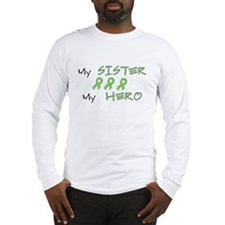 Hero Sister Green Long Sleeve T-Shirt