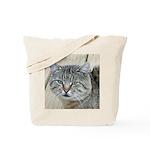 Light Tabby Cat Tote Bag