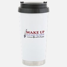 Unique Wake up Travel Mug