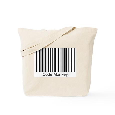 Code Monkey Tote Bag