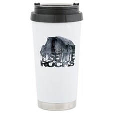 Yosemite Rocks Travel Coffee Mug