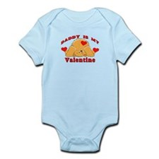 Daddy My Valentine Infant Bodysuit