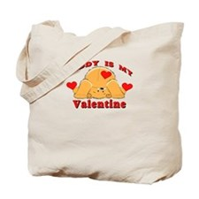 Daddy My Valentine Tote Bag
