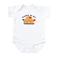 Daddy My Valentine Infant Bodysuit