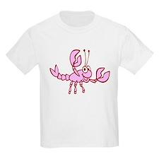 Kids Crawfish Designs T-Shirt