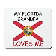 My Georgia Grandpa Loves Me Mousepad