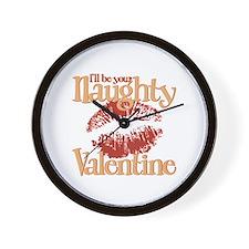Naughty Valentine Wall Clock