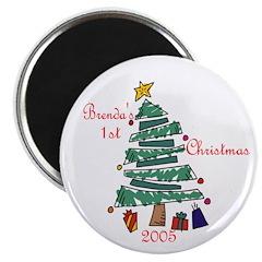 Brenda's 1st Christmas Magnet