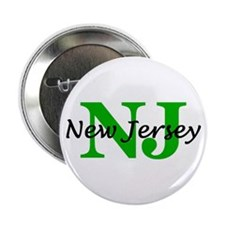 """NEW JERSEY- NJ 2.25"""" Button"""