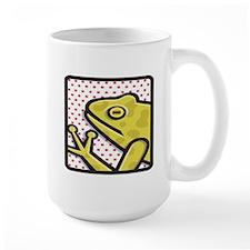 Frog And Red Dots Mug