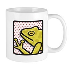Frog And Red Dots Mug