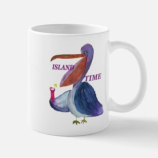 Island Time Pelican Mug
